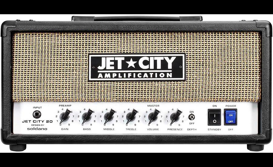 JET CITY VINTAGE 20W TUBE HEAD GUITAR AMPLIFIER