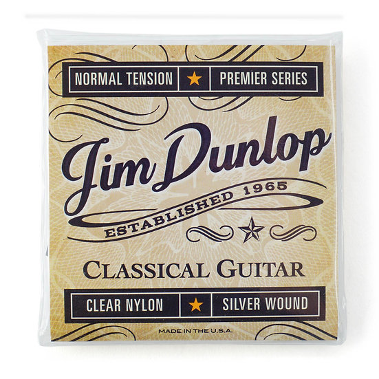 DUNLOP DCV100 PERFORMANCE CLASSICAL BALL END STRINGS