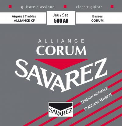 SAVAREZ 500AR CORUM ALLIANCE CLASSICAL GUITAR STRINGS STANDARD TENSION