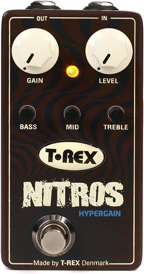 T-REX NITRIOS HYPERGAIN DISTORTION