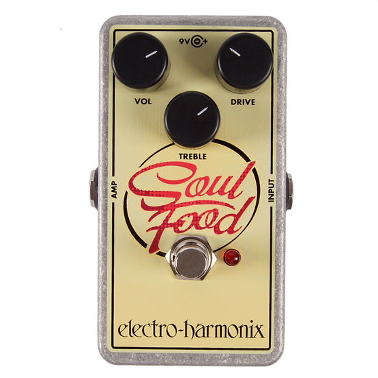 ELECTRO HARMONIX SOUL FOOD DISTORTION/FUZZ/OVERDRIVE
