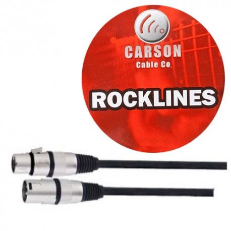 CARSON 10FT XLR MIC CABLE M/F