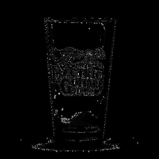 ERNIE BALL VINTAGE LOGO PINT GLASSES (SET OF 4)