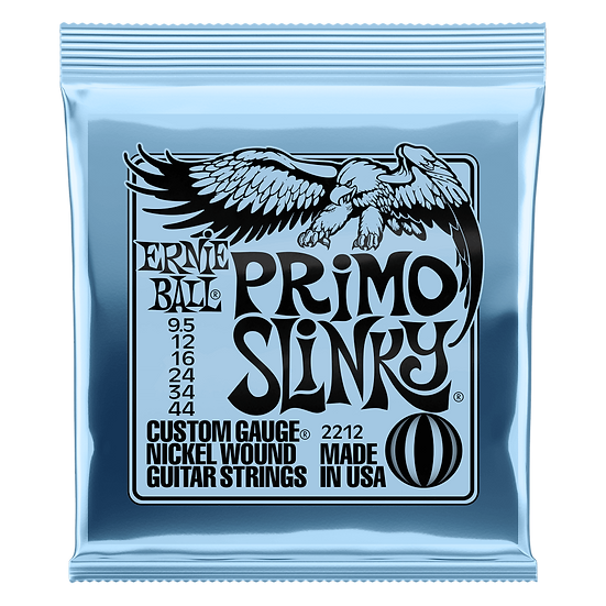 ERNIE BALL PRIMO SLINKY NICKEL WOUND ELECTRIC GUITAR STRINGS