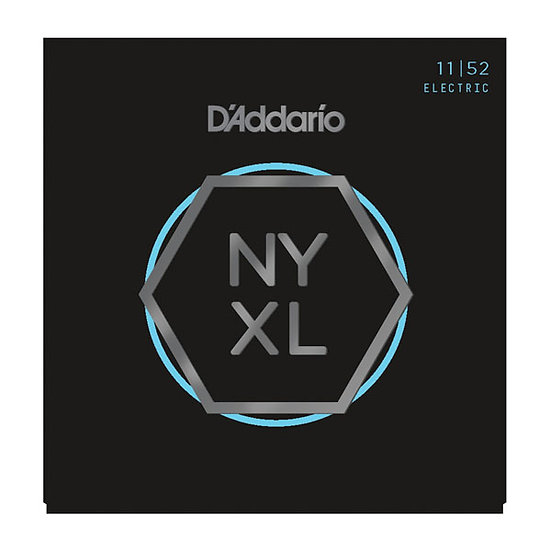 D'ADDARIO NYXL MED TOP/HVY BOTTOM 11/52 ELECTRIC STRINGS