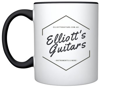 ELLIOTT'S GUITARS LOGO MUG