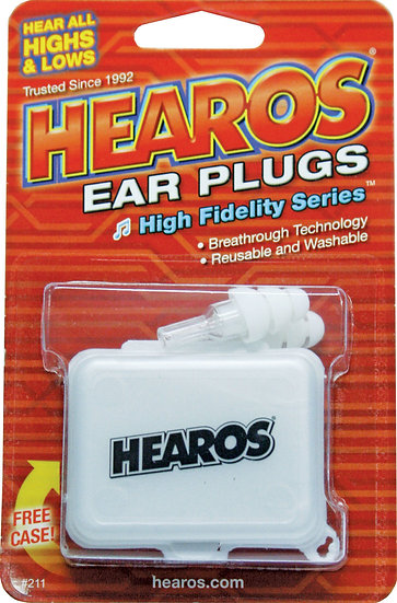 HEAROS HI FIDELITY EAR PLUGS