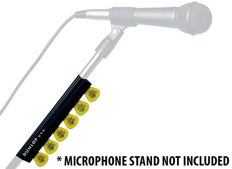 DUNLOP CLIP-ON MICROPHONE STAND PICK HOLDER 7""