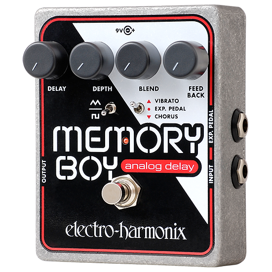 ELECTRO HARMONIX MEMORY BOY ANALOG DELAY WITH CHORUS/VIBRATO