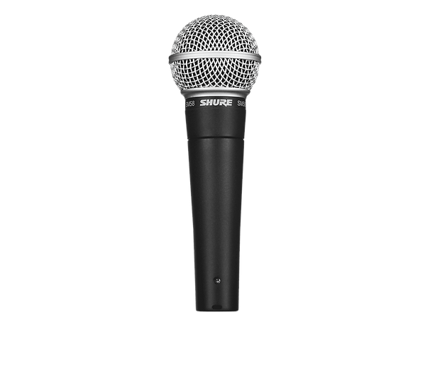 SHURE SM-58 DYNAMIC VOCAL MICROPHONE