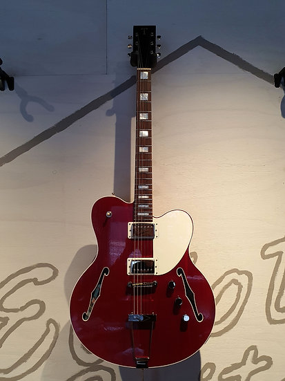 T GUITARS NO. 9 THINLINE DELUXE TRANS CHERRY *BUILT TO ORDER*