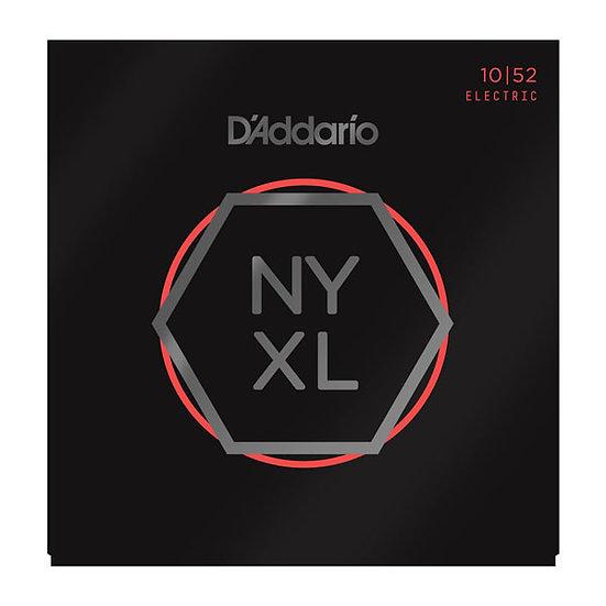 D'ADDARIO NYXL LGT TOP/HVY BOTTOM 10/52 ELECTRIC STRINGS