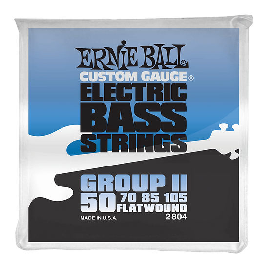 ERNIE BALL  FLATWOUND GROUP II 50/105 ELECTRIC BASS STRINGS