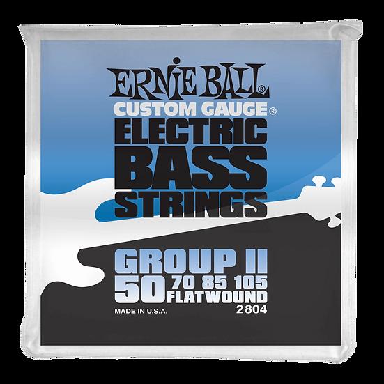 ERNIE BALL  FLATWOUND GROUP II 50/105 ELECTRIC BASS STRINGS