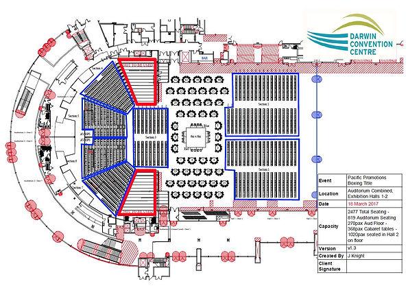 Darwin boxing DCC Floor Plan