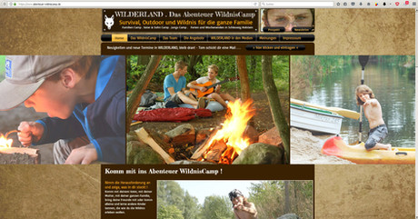 Abenteuer Wildniscamp