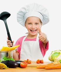 Kinder kochen leckeres