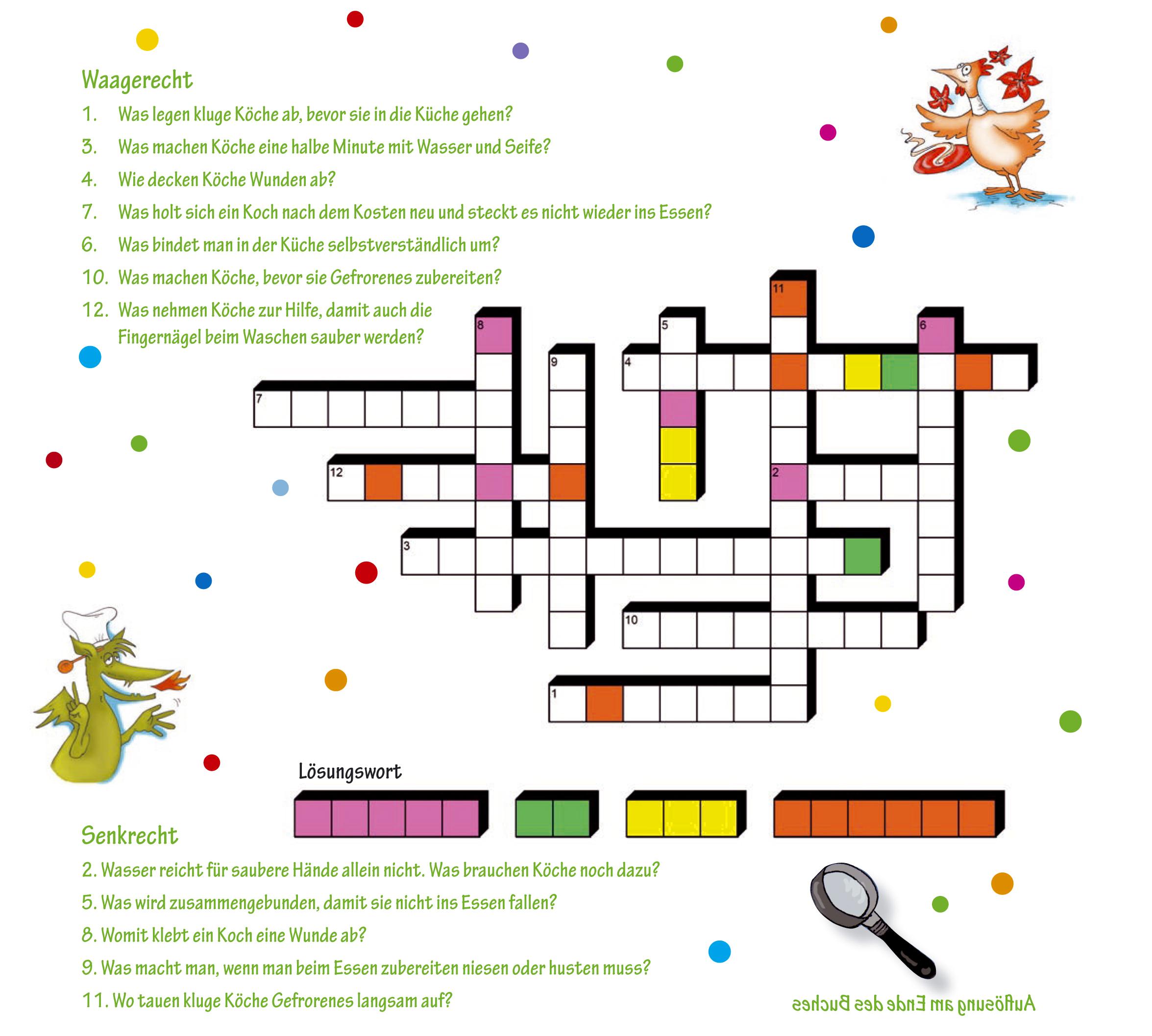 Spiele und Rätsel