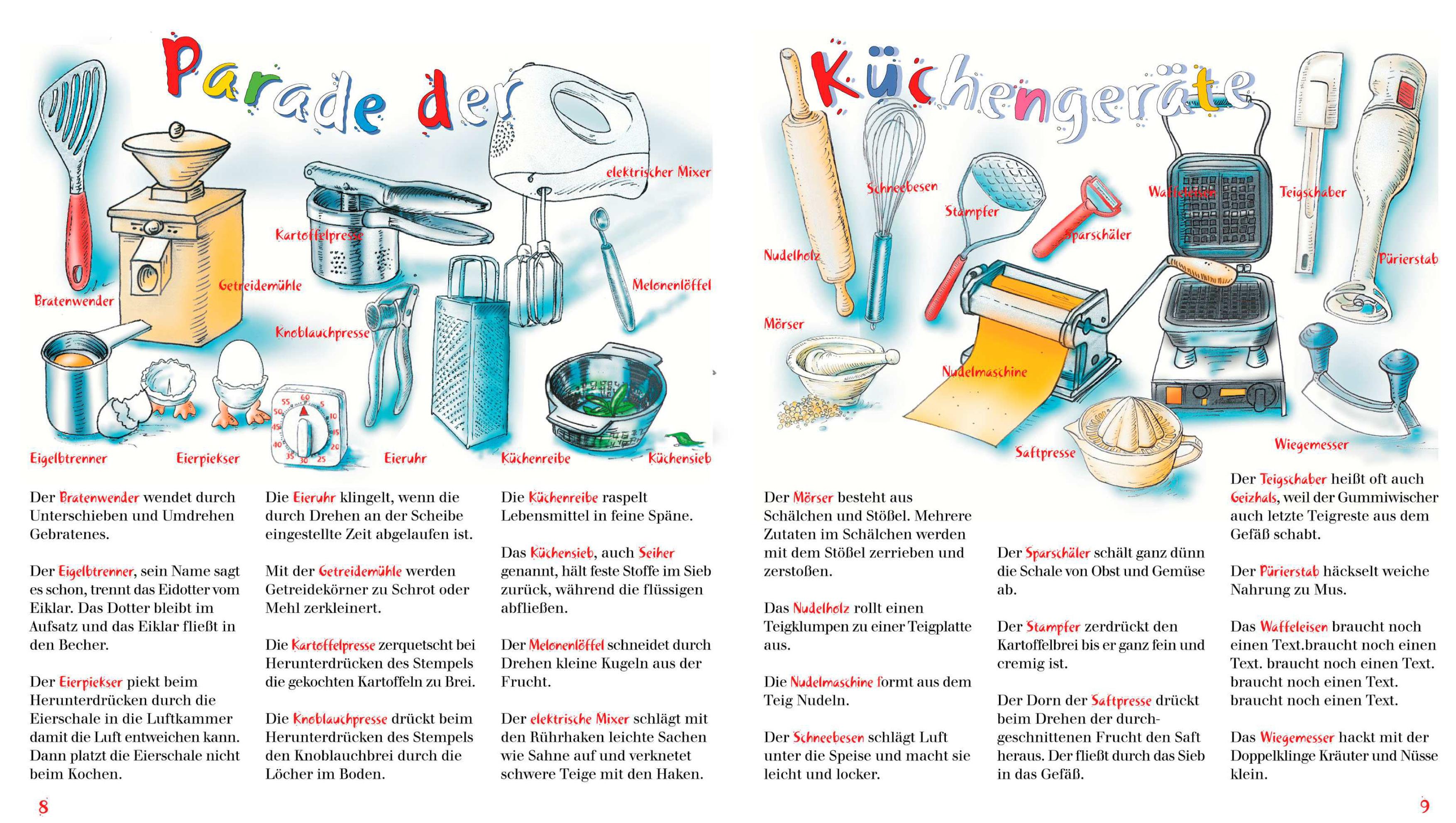 Die Küchenparade für Kinder