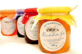 Hochwertige Marmelade Konfitüren
