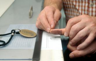Fingerabdruck Fingerprint