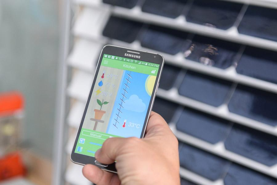 Smartphone smart living