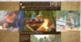 Homepage Abenteuer Wildniscamp