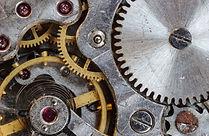 Makrofotografie Uhrwerk
