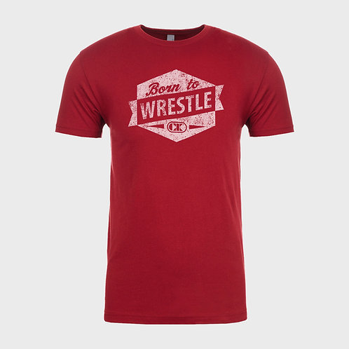 "T-SHIRT CLIFF KEEN ""BornToWrestle"""