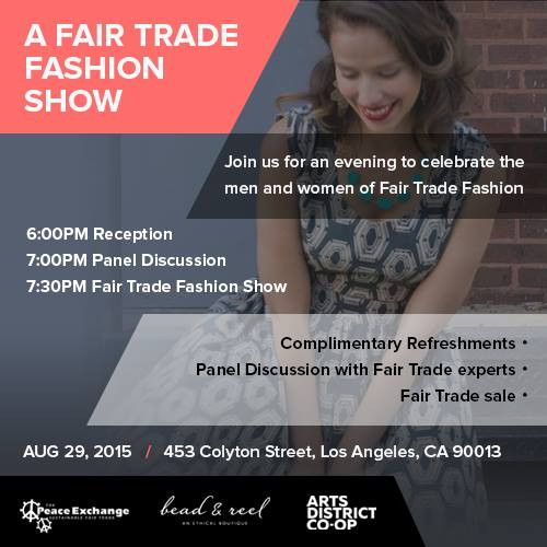 Fair Trade Fashion Show - Special Giveaway