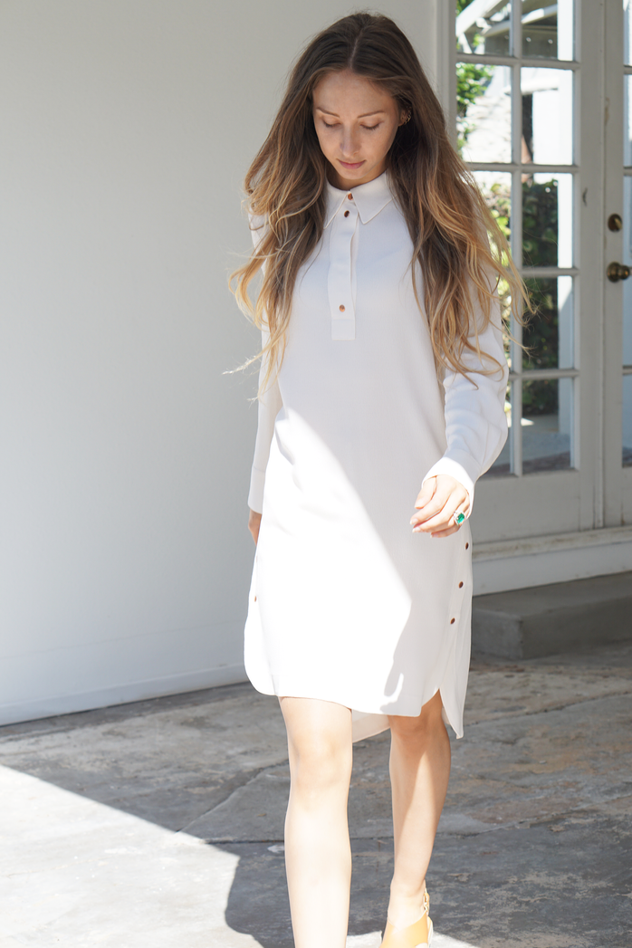 Trend to Try: Menswear Inspired Shirtdresses