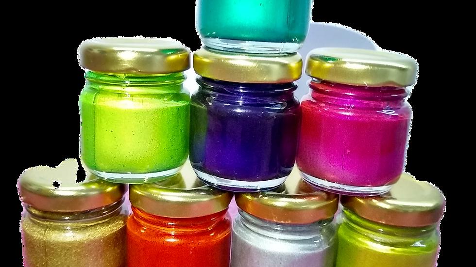 Pigmento Metálicos Líquidos 500 cc