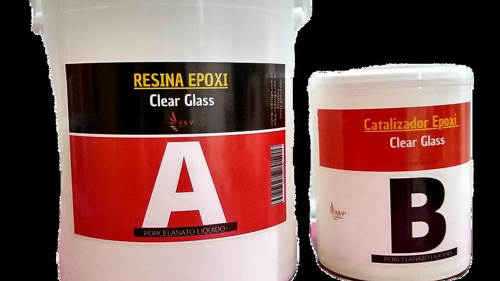 Porcelanato Liquido Clear Glass  6 kg