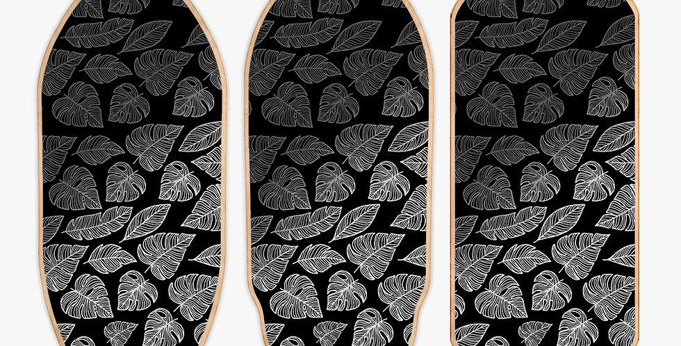 Dark Leaves + roller