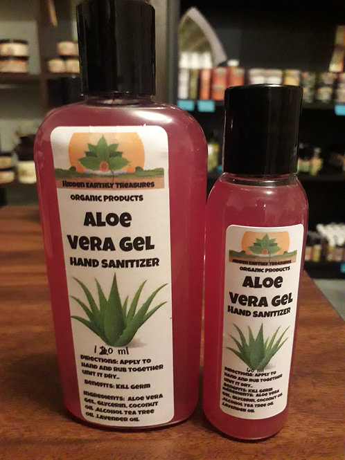 Aloe Vera Hand Sanitizer 120 ml / 60 ml