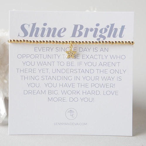 Shine Bright Bracelet, Star