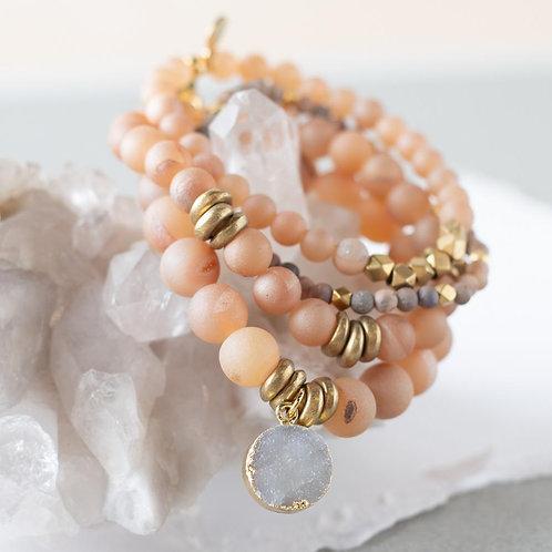 Druzy Gemstone Bracelets
