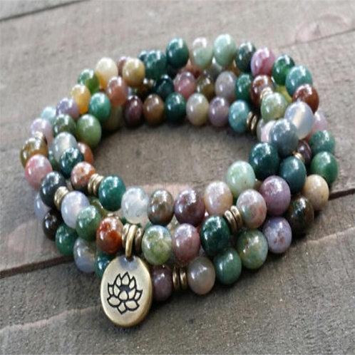 Natural Stone Meditation Beads