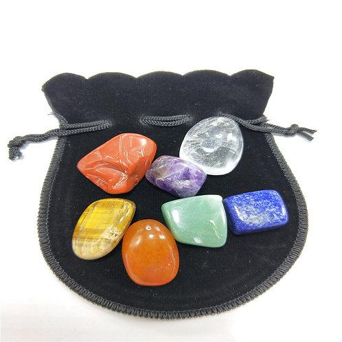 7-pc Chakra Natural Stone Set