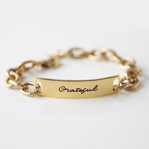 Grateful Link Bracelet