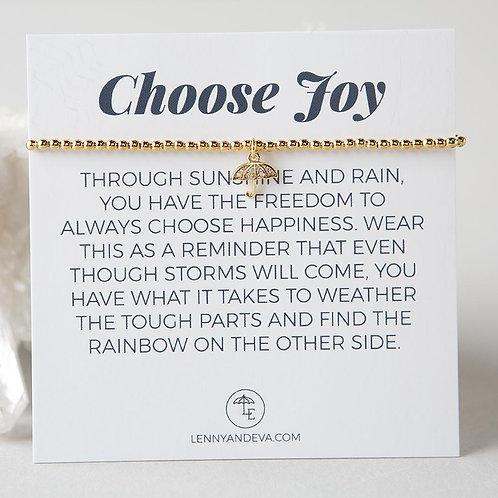 Choose Joy Bracelet, Umbrella