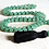Thumbnail: Natural Aventurine, Hand Knotted, 108 Bead Mala Necklace