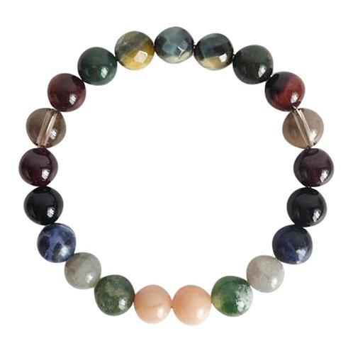 Protection Gemstone Mix Bracelet
