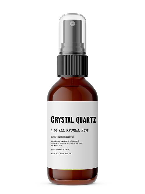 Crystal Quartz Meditation Mist / Stone Included
