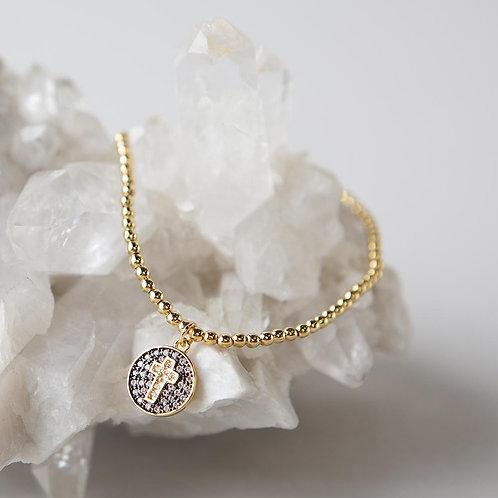 Have Faith Bracelet, Cross