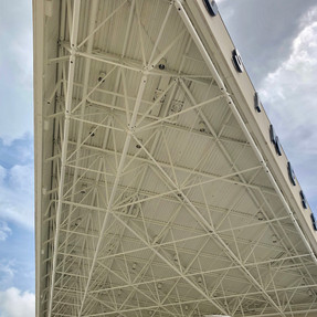 Business Jet Center Roof
