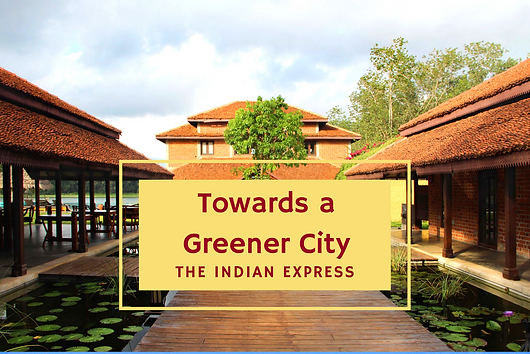 Benny Kuriakose talks about his holistic approach to architecture, to the Indian Express