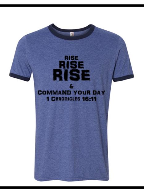Rise, Rise, Rise  Men's T-Shirt (Round Neck)