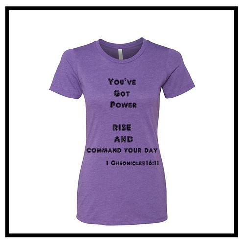 you've got power T-Shirt Women's(Round Neck)