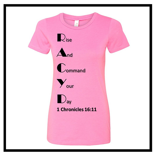 RACYD T-Shirt Women's (Round Neck)